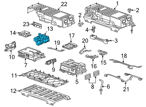 gm 20910413 genuine gm relay box. Black Bedroom Furniture Sets. Home Design Ideas