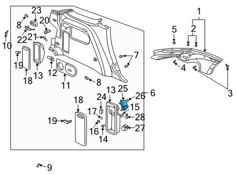 Gm Parts Diagram Engine Compartment