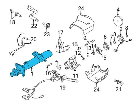Gmc Yukon Xl Parts Diagram