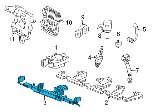 2005 Cadillac Escalade Engine Diagram 2005 BMW X5 Engine