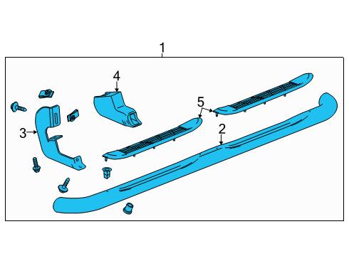 GMC    22805435  Genuine    GMC    Step Bar Assembly