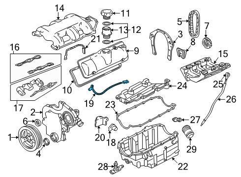 Pontiac    12567648  Genuine    Pontiac    Crankshaft Position Sensor