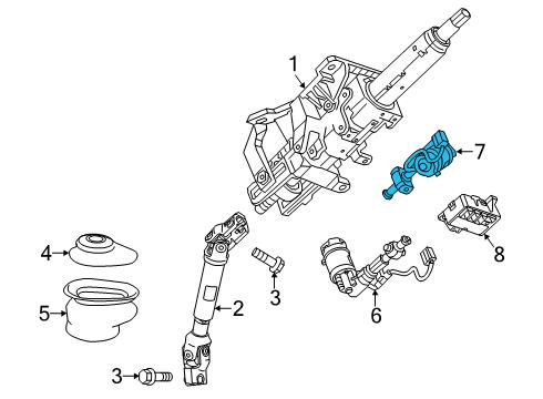 cadillac xts parts diagram