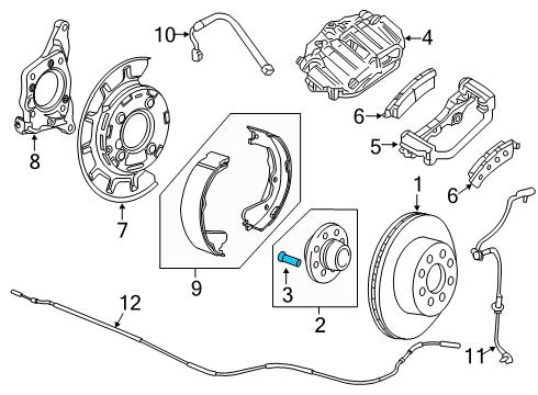 GMC    11571093  Genuine    GMC    Wheel Stud