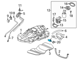 GM Fuel Filter - 25319686 and Related Parts