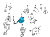 Chevrolet Power Steering Pump - 19153678 and Related Parts
