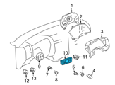 Chevrolet A/C Switch - 21999161 and Related Parts