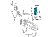 GM Fuel Pump - 19153711 and Related Parts