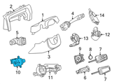 GM Ignition Switch - 94737994 and Related Parts