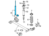 Chevrolet Shock Absorber - 96980829 and Related Parts