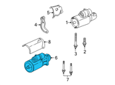 GM Starter - 10465577 and Related Parts
