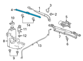 GM Wiper Blade - 23117448 and Related Parts