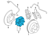 GM Wheel Bearing - 23147290 and Related Parts