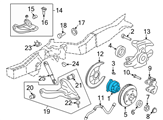 GM Wheel Bearing - 12413045 and Related Parts