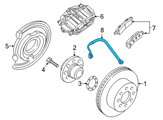 Chevrolet Hydraulic Hose - 20830366 and Related Parts