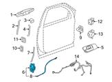 Chevrolet Door Lock - 25876385 and Related Parts