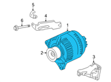 GM Alternator - 19205245 and Related Parts