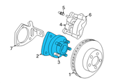 GM Wheel Bearing - 88964168 and Related Parts