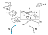 GM Oxygen Sensor - 12583804 and Related Parts