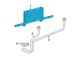 GM Oil Cooler - 89040217 and Related Parts