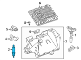 Chevrolet Spark Plug - 12622561 and Related Parts