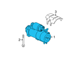 Chevrolet Starter - 12638394 and Related Parts