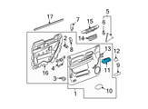 GM Door Handle - 22855617 and Related Parts