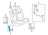 GM Seat Belt - 19301276 and Related Parts