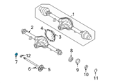 GM Wheel Bearing - 12479031 and Related Parts