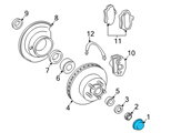 GM Wheel Cover - 15602628 and Related Parts