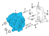 GM Alternator - 92173959 and Related Parts