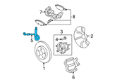 Chevrolet Hydraulic Hose - 25874786 and Related Parts