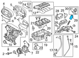 Chevrolet Oil Filter - 55594651 and Related Parts