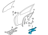 GM Window Regulator - 16830432 and Related Parts