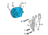 Chevrolet Alternator - 25808702 and Related Parts
