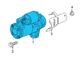 GM Starter - 12645298 and Related Parts