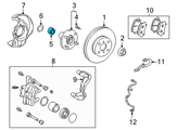 GM Wheel Bearing - 88970116 and Related Parts