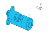 GM Starter - 89018113 and Related Parts