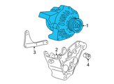 Chevrolet Alternator - 19244795 and Related Parts