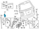 GM Body Control Module - 20821156 and Related Parts