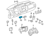 Chevrolet Headlight Switch - 15916345 and Related Parts