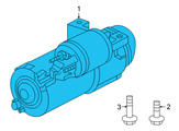 GM Starter - 89017755 and Related Parts