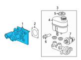 Chevrolet Brake Booster - 20940394 and Related Parts