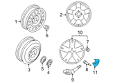 Chevrolet Wheel Cover - 96452311 and Related Parts