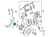 GM Wheel Bearing - 95983139 and Related Parts
