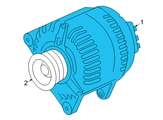 GM Alternator - 93190829 and Related Parts
