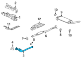 GM Catalytic Converter - 15240787 and Related Parts