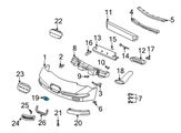 Chevrolet Emblem - 19207384 and Related Parts