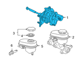 Chevrolet Brake Booster - 15870649 and Related Parts