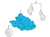 Chevrolet Water Pump - 19208815 and Related Parts